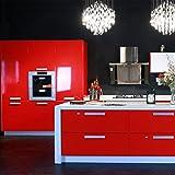 Hot-ARUHE-Hochwertig-Kchenschrank-Aufkleber-PVC-Selbstklebend-Tapeten-Rollen-fr-MbelKcheBadezimmer-061-5M-Aufkleber-Folie-MbelSchrank-Tr-Papier-fr-WandplakateRot