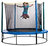 Pure Fun 8-Foot Trampoline and Enclosure Set
