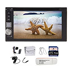 See Pupug 6.2'Android 4.2 Double 2 Din In Dash Car DVD Radio Stereo Player WiFi 3G GPS BT IPOD Free 3G WiFi Dongle CD Player headunit Details