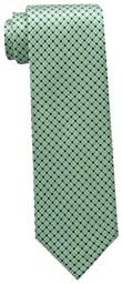 Tommy Hilfiger Men\'s Core Micro Tie, Green, One Size