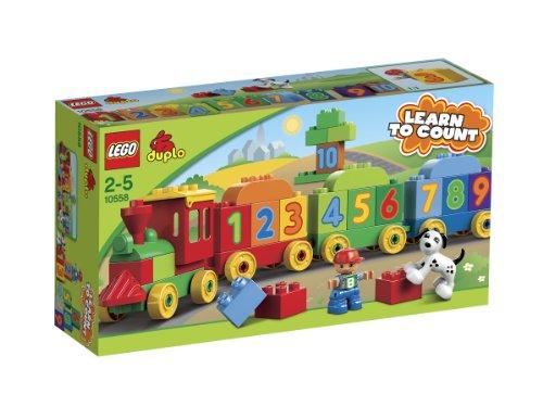 LEGO DUPLO Aprende Jugando: El Tren de los Números (10558)