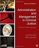 img - for Administration and Management in Criminal Justice: A Service Quality Approach book / textbook / text book