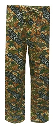 MJC International Group Men's Duck Dynasty Leaf Knit Pant, Camo, Small