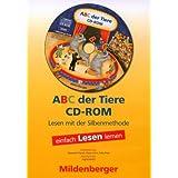 """ABC der Tiere. Leseheft Lesen in Silben, Druckschrift, 1 CD-ROM Einzellizenzvon """"Mildenberger"""""""