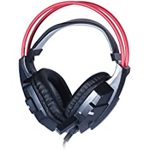 Kingstar LED Lighting Stereo Gaming Headset Headphone Ghosts G1000 3.5mm Foldable USB Over-Ear Wired Noise Cancelling...