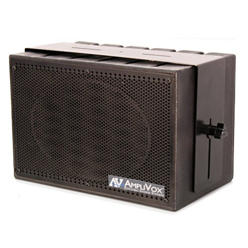 Amplivox S1230 Mity-Box 50W Compact Pa System With Amplified Speaker And Uhf Microphone