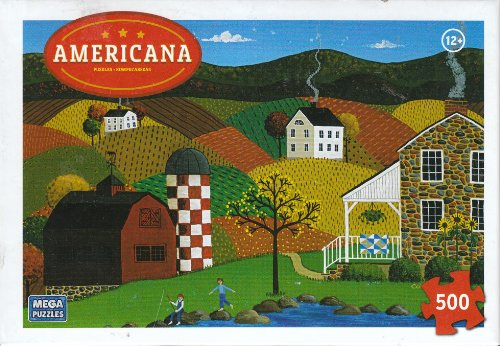 Indian Summer 500 Piece Puzzle