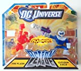 DC Universe W7542 Action League FLASHPOINT The Flash Citizen Cold Mini Figure 2 Pack