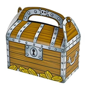 Amazon.com: Treasure Chest Treat Boxes (package of 12