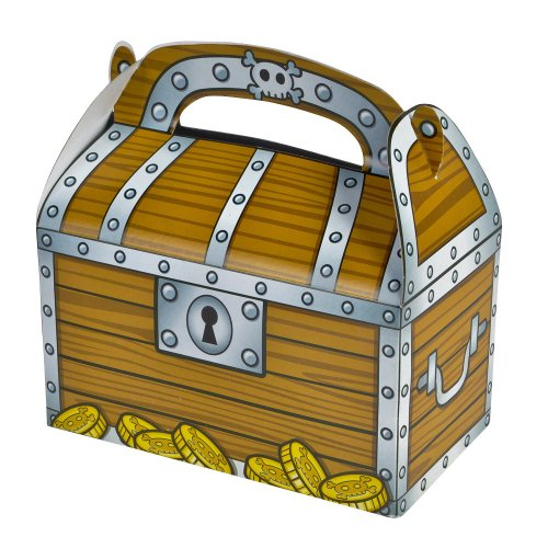 Treasure Chest Treat Boxes (package of 12)