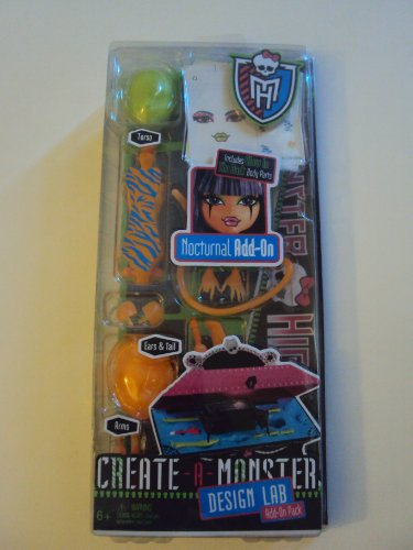 Monster High Nocturnal Add on Create a Monster (Monsters Inc Add On compare prices)