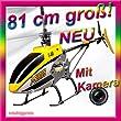 CELRIC T40/ T640 Hubschrauber 3,5 Kanal MJX 2,4GHZ RC HELIKOPTER HUBSCHRAUBER T-640 C/T-40 mit Kamera