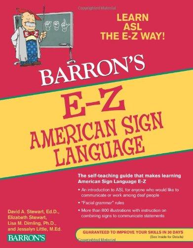 E-Z American Sign Language (Barron's E-Z Series)