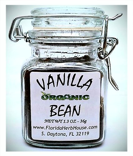 Fresh Ground Vanilla Beans 1.3 oz. (36g) - Organic