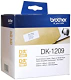 Brother DK-1209 Small Address Paper Label Roll - Retail Packaging