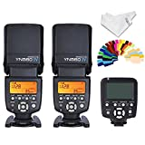 Yongnuo-2pcs-YN560-IV-Flash-kit-YN560TX-LCD-Wireless-Flash-Controller-For-Nikon