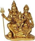 Exotic India Shiva Family - Brass Statue