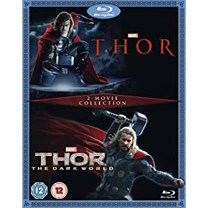 Thor / Thor: The Dark World [Blu-ray] [Import anglais]