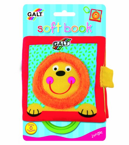 Galt Toys Inc First Years Jungle Soft Book - 1