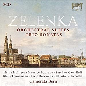 Zelenka - Orchestral Suites by Brilliant Classics