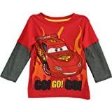 Disney Cars Go! Go! Go! Red Toddler Long Sleeve T-Shirt