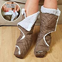 Ultra Soft Fleece Leg/foot Snuggler Warmers - Size Large from SNUGGLER WARMERS