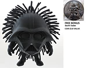 "Disney Parks Star Wars Darth Vader Squishy ""Koosh"" Ball - Theme Park Exclusive Limited Availibility + Bonus Darth Vader Coin"