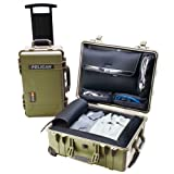 Pelican 1560 Laptop Overnight Case (OD Green) (Color: OD Green, Tamaño: 17 Inches)