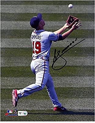 "Andrelton Simmons Atlanta Braves Autographed 8"" x 10"" Photograph - Fanatics Authentic Certified - Autographed MLB Photos"