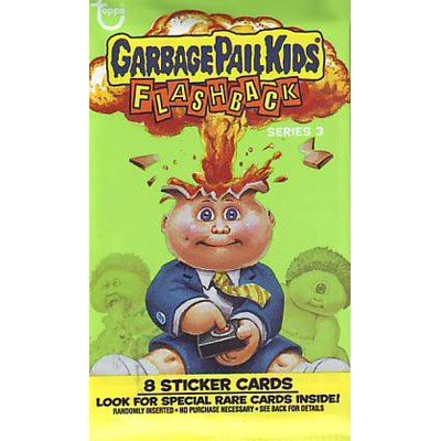 Garbage Pail Kids Flashback 3 80's Booster Pack