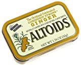 Altoids Curiously Strong Mints, Ginger, 1.76-Ounce Tins (Pack of 12)