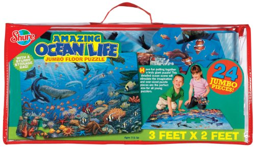 Cheap Fun Shure Ocean Life Floor Puzzle (B000OC1RS8)