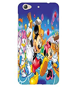 ColourCraft Lovely Cartoon Character Design Back Case Cover for LeEco Le 1S