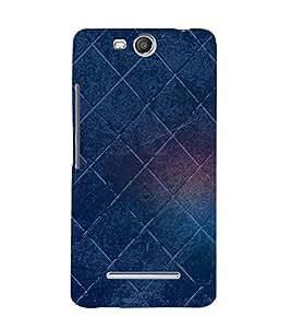 Checks Pattern Cute Fashion 3D Hard Polycarbonate Designer Back Case Cover for Micromax Bolt Q338