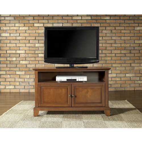 Crosley Furniture Newport 42-Inch Tv Stand, Classic Cherry