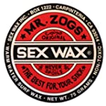 Mr. Zogs Original Sexwax - Warm Water...