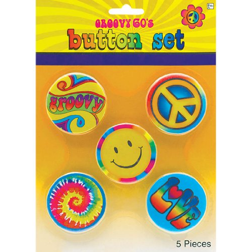 BUTTONS 60S HIPPIE - 1