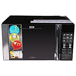 IFB 20BC4 20-Litre Convection Microwave Oven (Black)