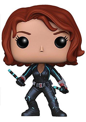 Funko POP Marvel: Avengers 2-Black Widow Action Figure