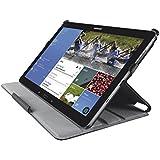 Trust Stile - Funda para tablet Galaxy Tab Pro/ Note Pro 12.2 (Ángulos de visualización ajustables), negro