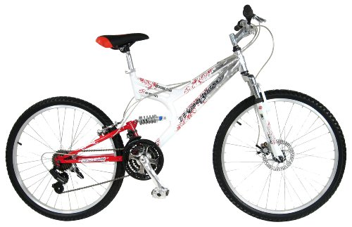 Review Mongoose Women's Woodland Bicycle (White)