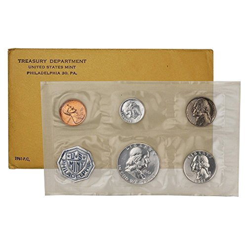 1961 Proof Set Superb Gem Uncirculated