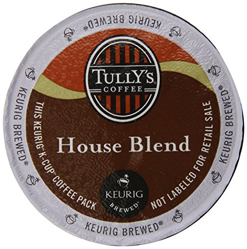 Tully'S House Blend, K-Cup Portion Pack For Keurig K-Cup Brewers (Pack Of 80)