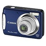 "Canon PowerShot A480 Digitalkamera (10 Megapixel, 3-fach opt. Zoom, 6,4 cm (2,5 Zoll) Display) Blauvon ""Canon"""