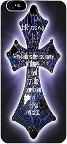 Hebrews 11:1 Now Faith Is The Assurance Of Things Hoped For The Conviction Of Things Not Seen Christian Quote Bible Verses Print Pattern Theme Protective Cover Sleeve Case For Apple Iphone 6 4.7 Inches front-992300