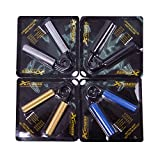 xfitness Hand Gripper Heavy Grips - Single - 6 Levels 4 Colors - 100 to 350 Lbs - Finger Grip Strength Ultimate Trainer