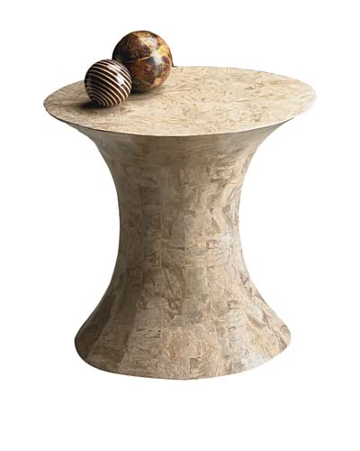 Butler Specialty Company Side Table, Cream Stone