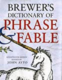 Brewer's Dictionary of Phrase and Fable, Seventeenth Edition