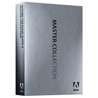 Adobe Creative Suite 4 Master Collection Upgrade [Mac] (Spanish)