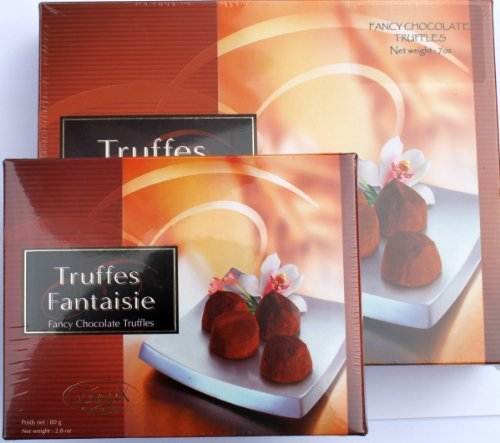 Guyaux Chocolatiers Of France Chocolate Truffles Large Gift Box Imported From France